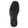 Men's shoes with a distinctive sole, black , 824-6540 - 19