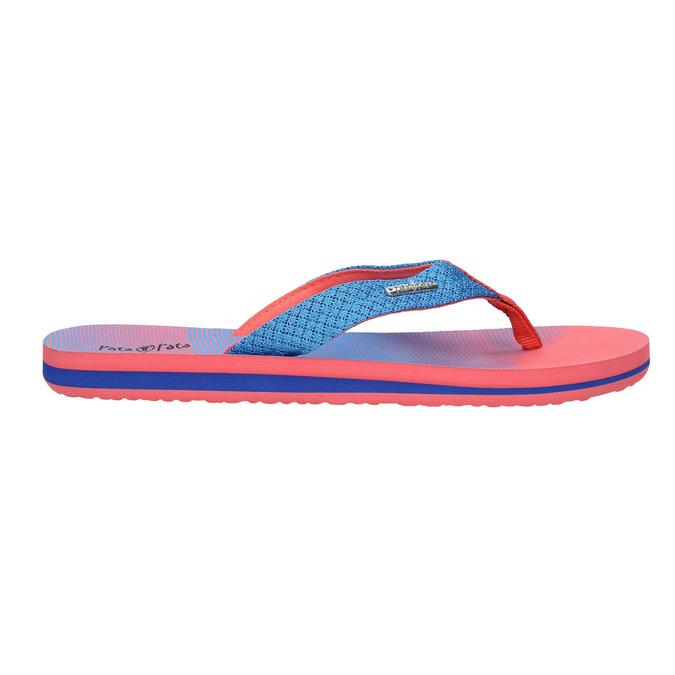 Ladies' flip-flops pata-pata, red , 579-9615 - 15