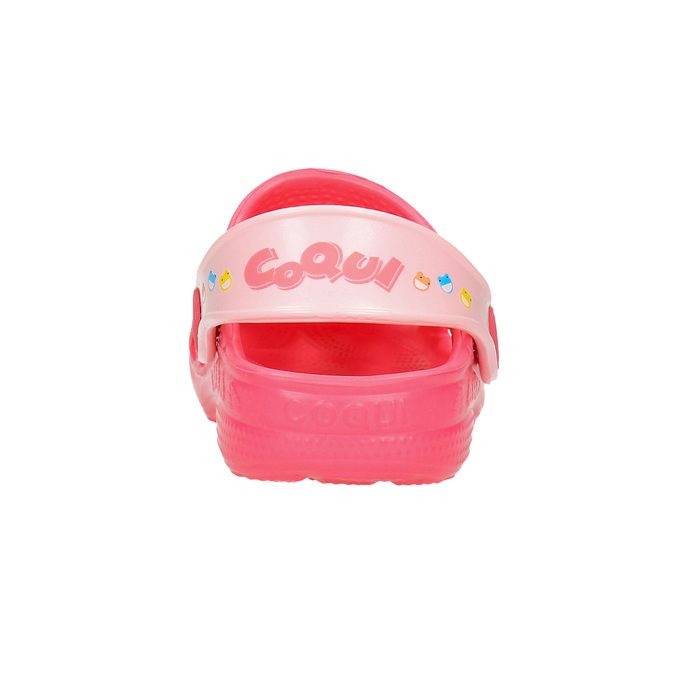 Girls' pink sandals coqui, pink , 272-5600 - 17