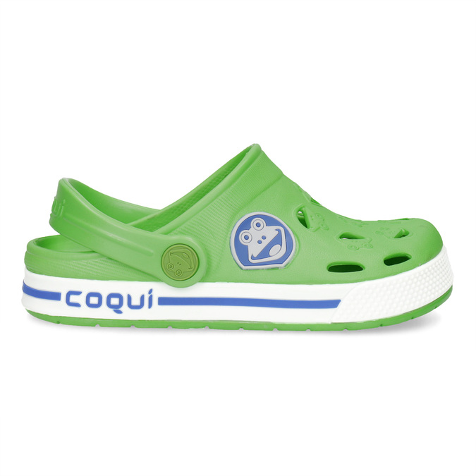 Children's green sandals coqui, green, 272-7603 - 19