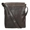 Men's leather bag bata, brown , 964-4283 - 16