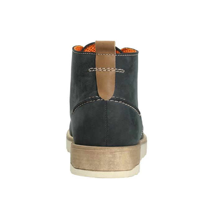 Men´s leather chukka boots weinbrenner, blue , 846-9629 - 16