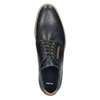 Informal leather shoes bata, blue , 826-9910 - 26