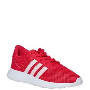 Red kids' sneakers adidas, red , 409-5288 - 13