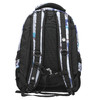 School backpack with print bagmaster, gray , 969-2649 - 19