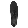 Ladies' shoes with stitching bata, black , 529-6632 - 19