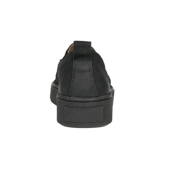 Ladies' Slip-on shoes bata, black , 516-6613 - 17