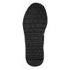 Girl's sneakers with small rhinestones mini-b, black , 329-6295 - 19