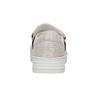 Ladies' leather slip-ons bata, pink , 516-5614 - 17