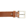 Men's leather belt bata, brown , 954-3191 - 26