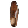 Leather Oxford shoes with decoration bata, brown , 826-3690 - 26