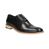 All-leather Oxford shoes bata, black , 824-6414 - 13