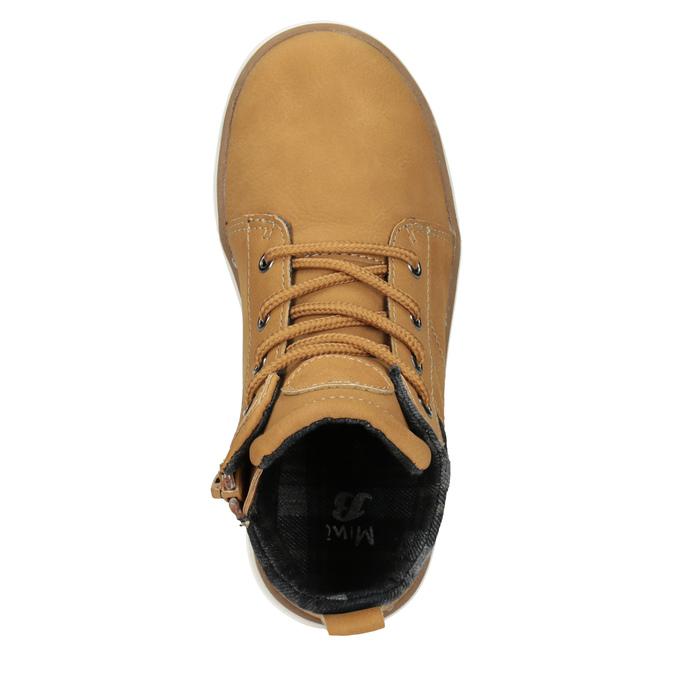Children's High Top Shoes mini-b, brown , 291-8172 - 15