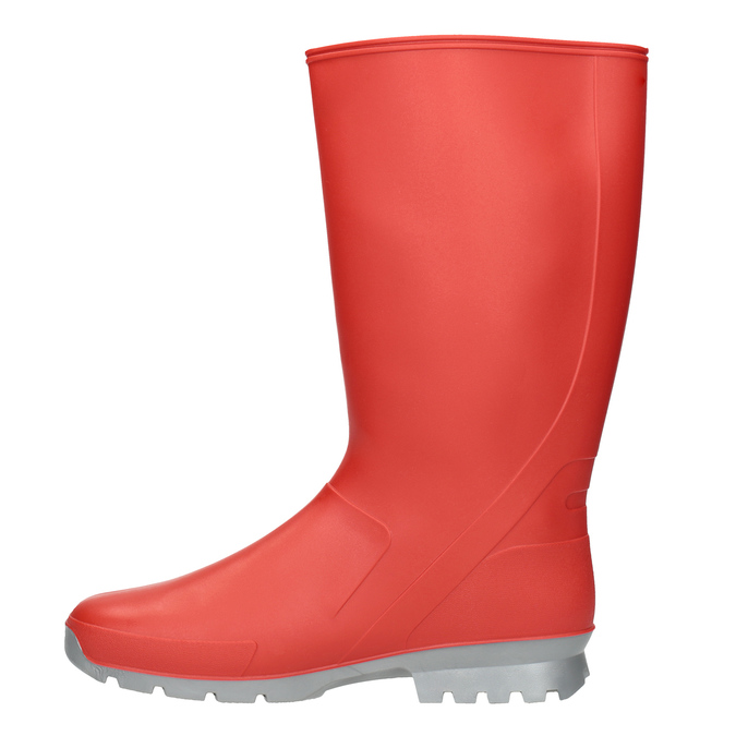 Ladies' Red Wellington Boots bata, red , 592-5140 - 15