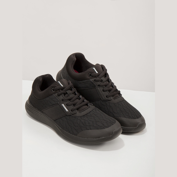 Ladies' Black Sneakers power, black , 509-6203 - 19
