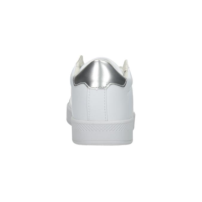 Ladies' White Sneakers, white , 501-1171 - 16