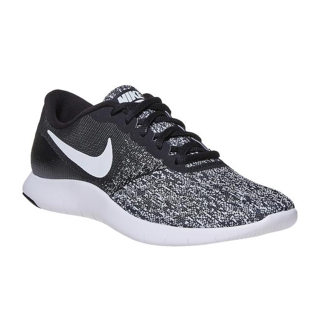 Ladies' sneakers with a pattern nike, black , 509-6189 - 13