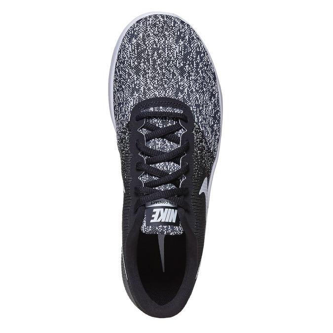 Ladies' sneakers with a pattern nike, black , 509-6189 - 19