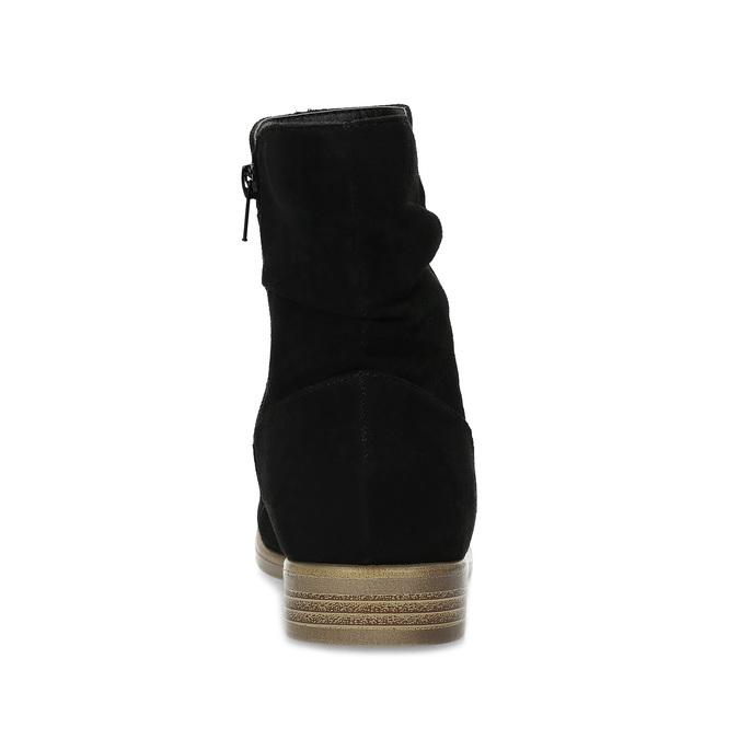 Ladies' ankle boots bata, black , 599-6614 - 15
