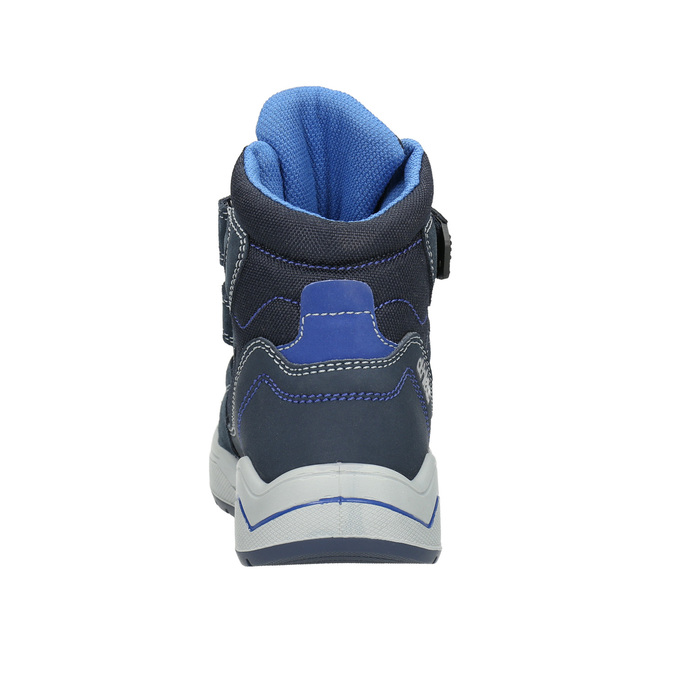 Children's Winter Boots mini-b, blue , 293-9615 - 17