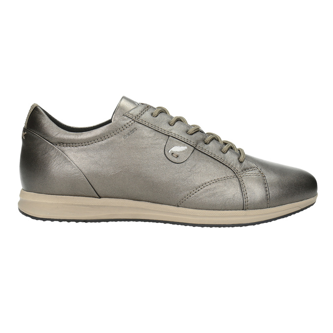 Ladies' Leather Sneakers geox, brown , 526-8090 - 26
