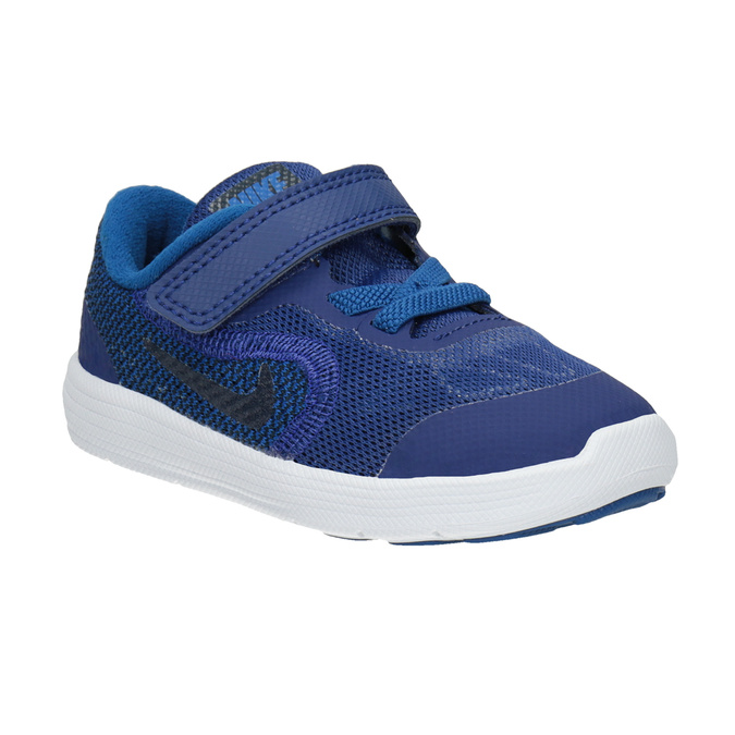 Blue Children's Sneakers nike, blue , 109-9132 - 13