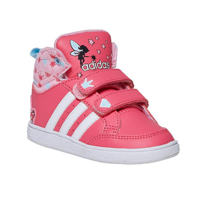 Girls' ankle sneakers adidas, pink , 101-5292 - 13