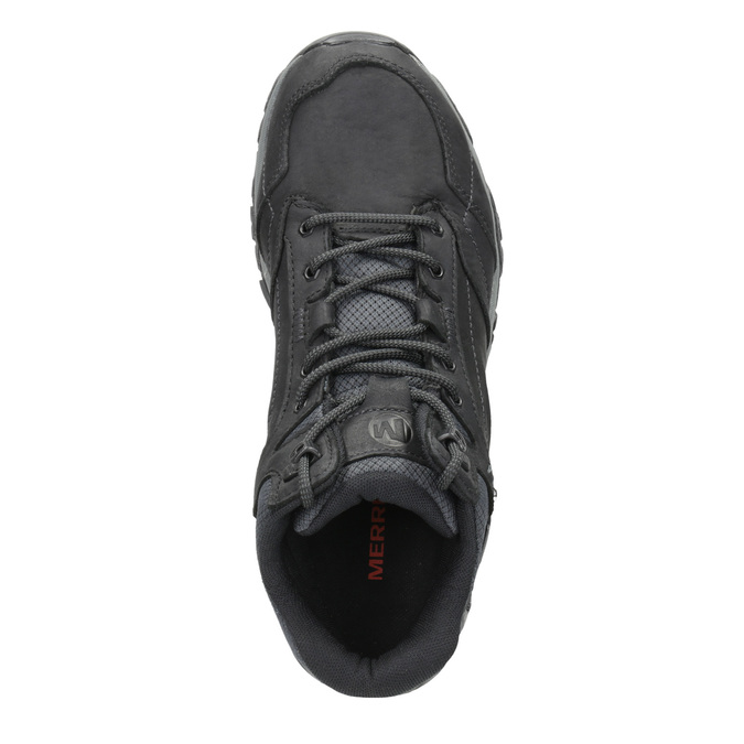 Leather Outdoor-Style Ankle Boots merrell, black , 806-6569 - 15