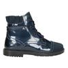 Children's Leather Ankle Boots primigi, blue , 228-9001 - 26