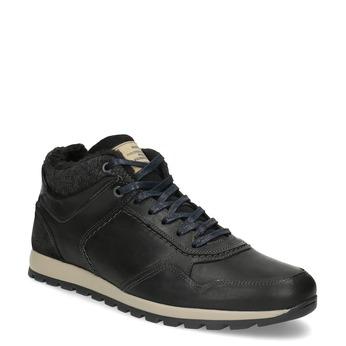 Men's Winter Sneakers bata, black , 846-6646 - 13