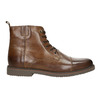 Insulated Leather Ankle Boots bata, brown , 896-4662 - 15