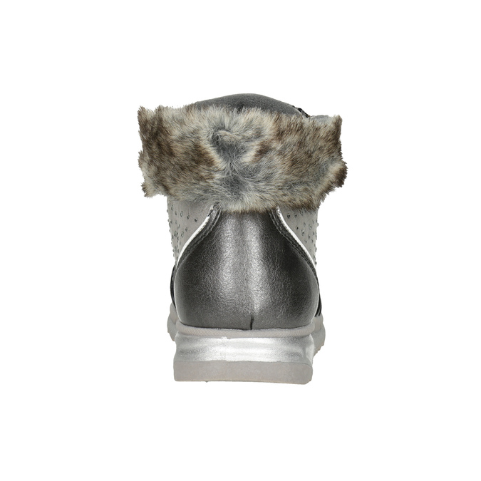 Childrens shoes mini-b, gray , 329-2287 - 16