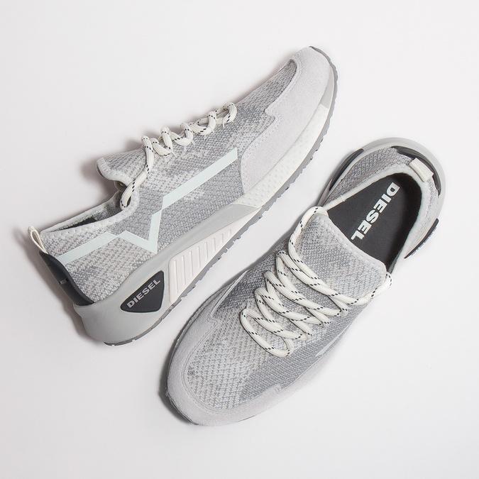 Ladies' sporty sneakers diesel, white , 509-1760 - 26