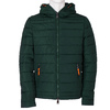 Men's Green Hooded Jacket bata, green, 979-7130 - 13
