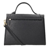Black Leather Handbag picard, black , 966-6050 - 16