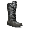 Ladies' winter snow boots bata, gray , 599-2619 - 13