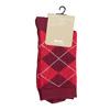 Ladies' Socks with an English Pattern bata, red , 919-5301 - 13