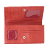 Ladies' red leather purse bata, red , 944-3203 - 15