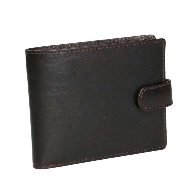 Men's leather wallet bata, brown , 944-4202 - 13