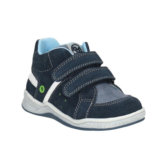 Kids' leather ankle boots bubblegummer, blue , 113-9603 - 13