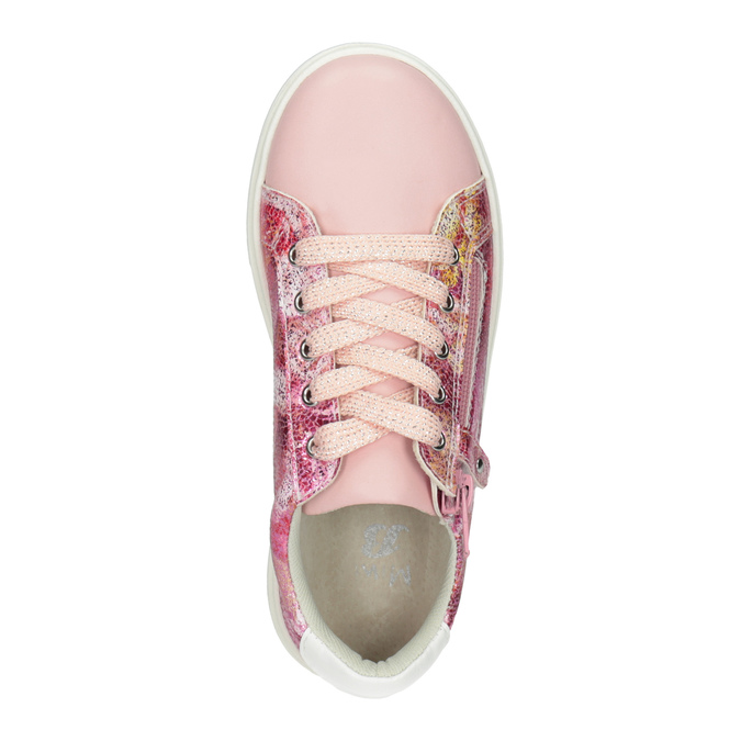 Kids' sneakers with a floral pattern mini-b, 321-5219 - 15