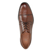 Men's dress shoes with stitching bata, brown , 826-4995 - 15