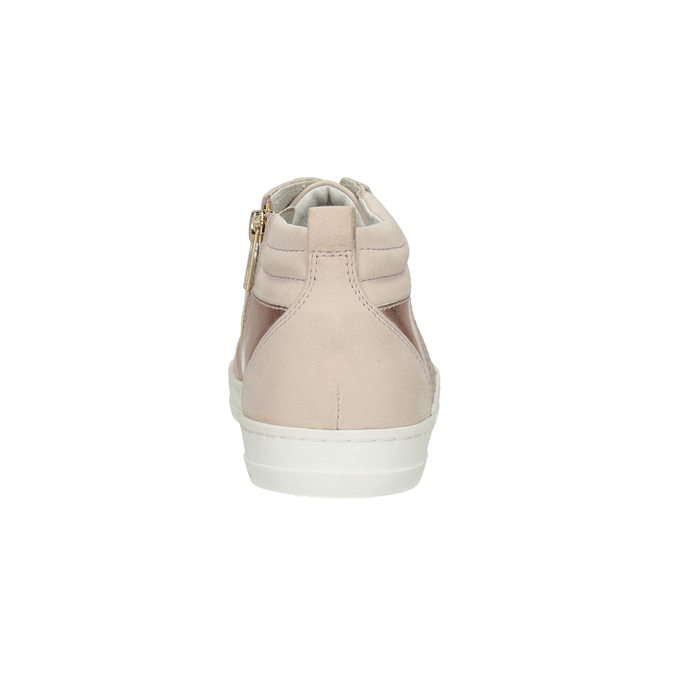 Ladies' high-top sneakers bata, pink , 546-5608 - 16