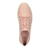 Ladies' casual sneakers with small rhinestones, 549-5607 - 15